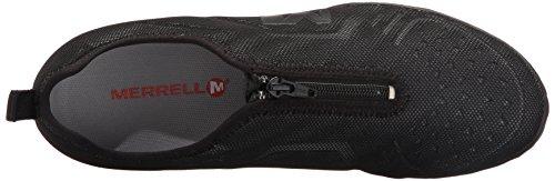 Donna Moda Sneaker Civet Merrell Zip Nero alla Black 1FTx6wU