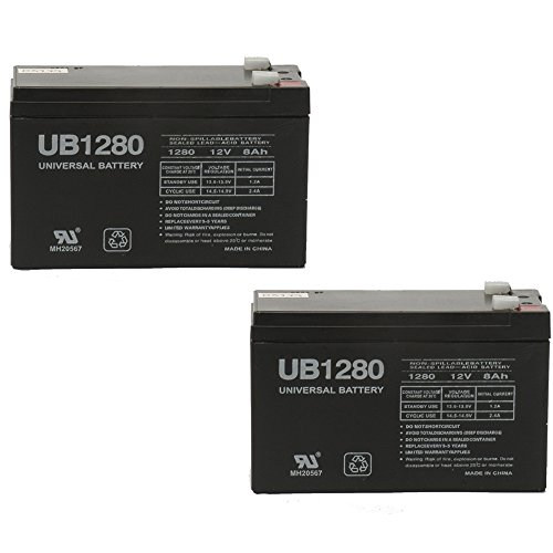 Universal Power Group 12V 8Ah F2 Battery for Para Systems-Mi