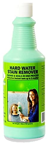 Bio Clean: Eco Friendly Hard Water Stain Remover (20oz Large)- Our Professional Cleaner Removes Tuff Water Stains From Shower doors, Windshields, Windows, Chrome, Tiles, Toilets, Granite, steel - Water Spots Chrome