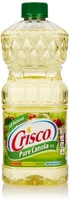 Crisco Pure Canola Oil, 48 Fl Oz from Crisco