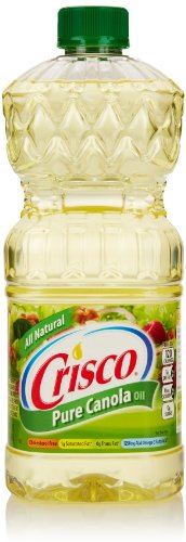 Crisco Pure Canola Oil, 48 Fl Oz