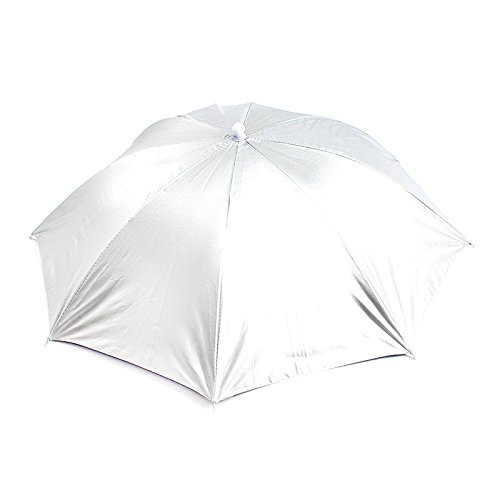Mew Hometom Outdoor Foldable Sun Umbrella Hat Golf Fishing Camping Headwear Cap Head Hat ()