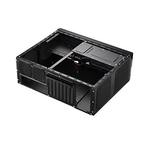 Cooltek G3 - Caja de ordenador (HTPC, PC, Acero inoxidable, 12 cm, 8 cm, 63, 5, 88, 9 mm (2.5, 3.5)) Negro, Plata: Amazon.es: Informática