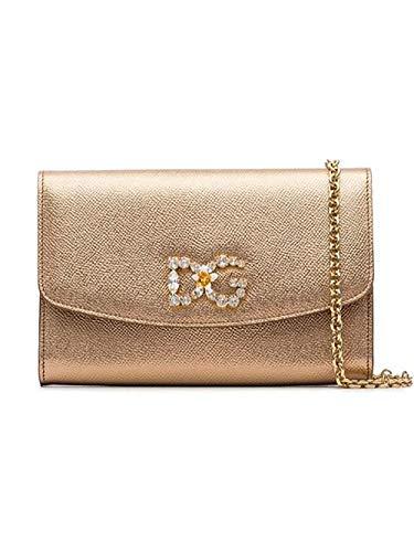 E Dolce Oro Borsa Pelle A Bi1028ac18487498 Spalla Donna Gabbana v6WUg6