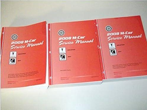 2008 pontiac solstice saturn sky service shop repair manual set rh amazon com 2009 Pontiac Solstice 2008 pontiac solstice gxp owners manual