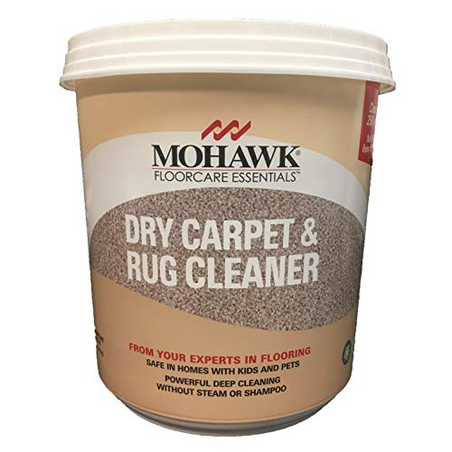 (New Mohawk Floorcare Essentials Dry Carpet and Rug Powder Cleaner 2.5 Lbs Cleans Up to 250 Sq. Feet)