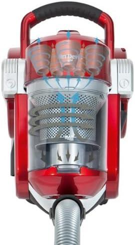 Dirt-Devil M50511 - Aspirador sin bolsa, 1600 W, color rojo ...