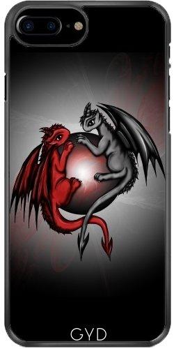 Coque pour Iphone 7 Plus / 8 Plus (5,5'') - Dragons Universe by Pezi Creation
