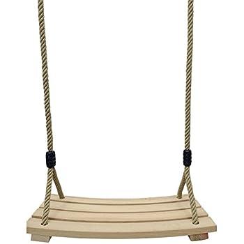 joxjoz outdoor indoor curved wooden swing. Black Bedroom Furniture Sets. Home Design Ideas