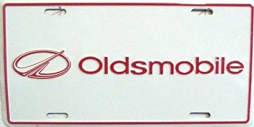 Oldsmobile License Plate