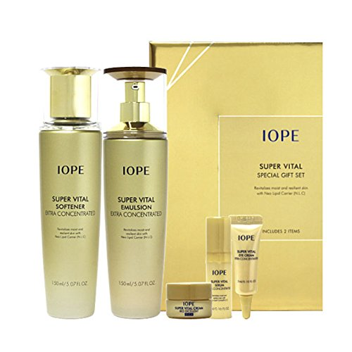 Korean Cosmetics_Amore Pacific IOPE Super Vital Extra Moist 2pc Set by IOPE