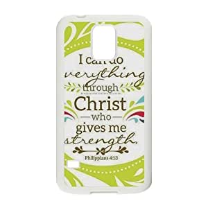 Christian Theme Case Cover Protector for Samsung Galaxy S5