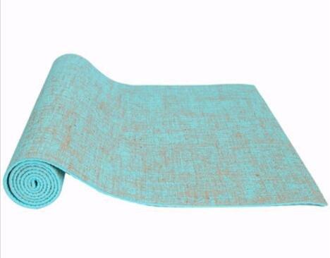 Bluelover Fitness Lino Yoga Mat Alargar 0,5 Mm Pliegue ...