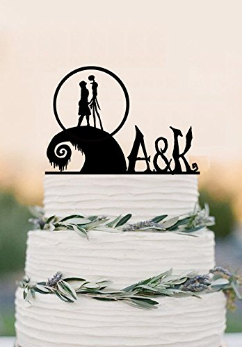 Personalised The Nightmare Before Christmas cake topper-acrylic ...