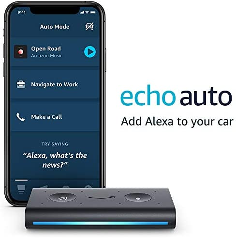 Echo Auto- Hands-free Alexa to your automotive along with your telephone