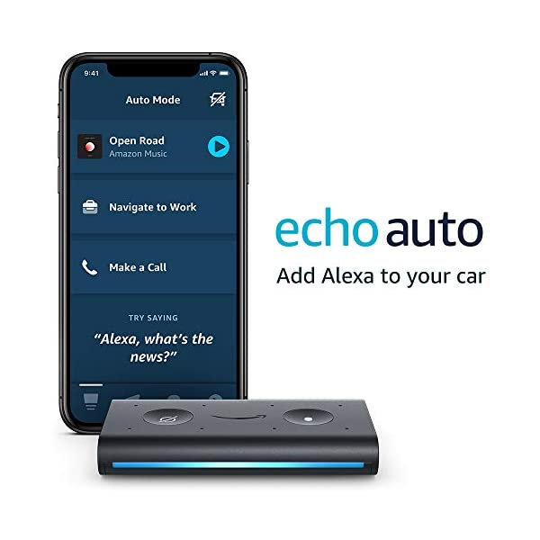 Echo Auto- Hands-free Alexa in your car with your phone 1