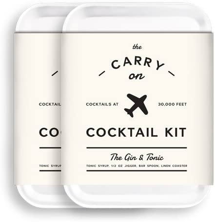 TSA Approved W&P Carry On Cocktail Kit