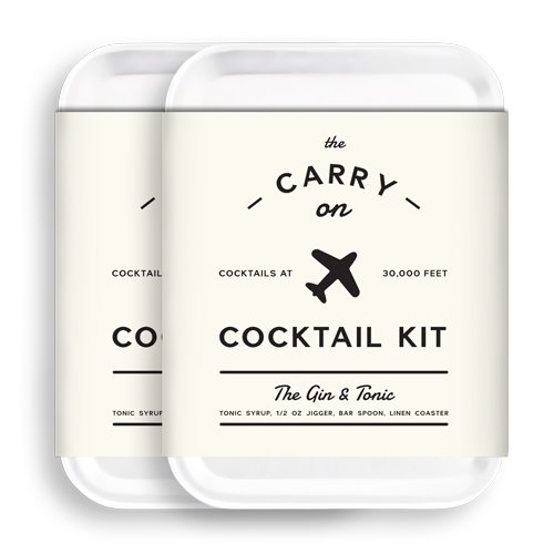 W&P Carry on Cocktail Kit, Gin & Tonic, Pack of 2 by W&P