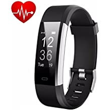 Today 50% Off! Fitness Watch,Fitness Tracker,Letufit Plus Activity Tracker With Heart Rate Monitor,Step Counter,GPS Tracker,Waterproof Smart Wristband for Android and Ios