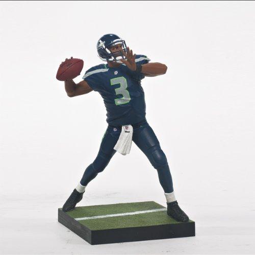 McFarlane 2013 Series NFL 33 - Russell Wilson Seattle Seahawks Action Figure