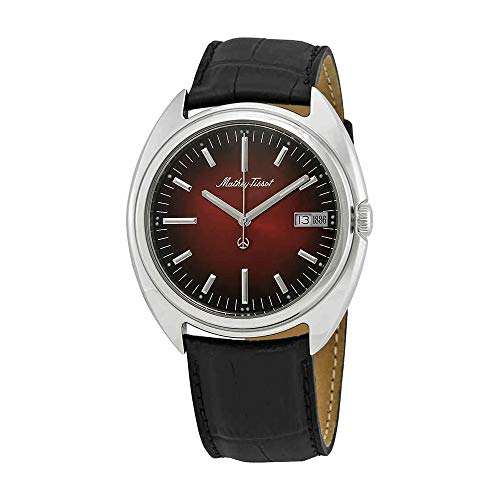 Mathey-Tissot Eric Giroud 1886 Red Dial Men's Limited Edition Watch -