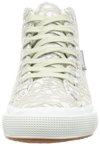 Donna Low Superga Grey Lt white 2795 Crystalw top Scarpe microfleece 8xIrYq4I