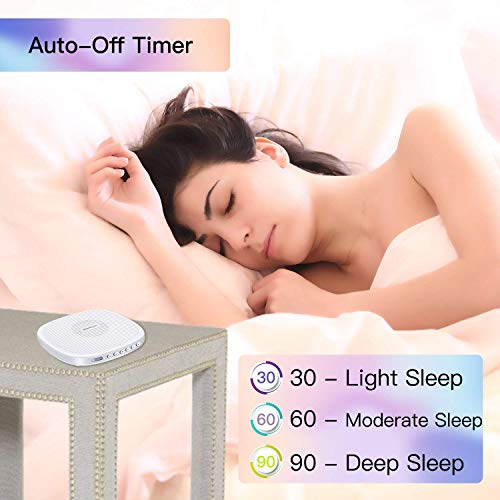 White Noise Machine, Sleep Sound and Timer for Baby, Kids, with Natural Sound