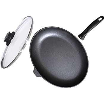 Amazon Com Swiss Diamond Nonstick Oval Fish Pan With Lid