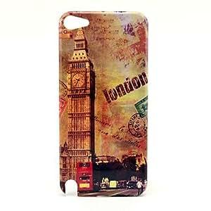 CL - Patrón Famouse Londres el Big Ben de reloj dura del caso para el iPod Touch 5