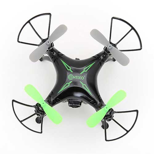 Contixo App Controlled Mini Drone 720p Hd Wifi Camera Gyro Rc Quadcopter Gravity Sensor Black 5.000000in. x 4.500000in.