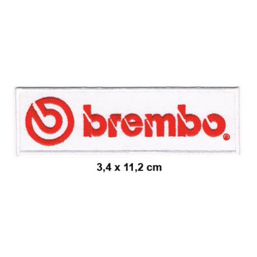 BREMBO Auto cars Motorsport Bremsen Scheibenbremsen disk brakes Formula 1 F1 Racing Race jacket t shirt Polo Patch Sew Iron on Embroidered