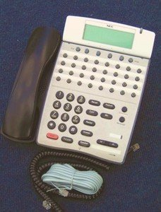 NEC DTR-32D-1 Phone DTR-32D-1(BK) 780055 Electra Elite Dterm Series I (Nec Telephone Manuals)