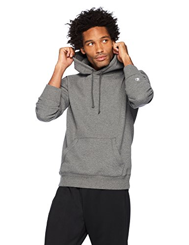 Starter Men's Pullover Hoodie, Amazon Exclusive, Iron Grey Heather, Large