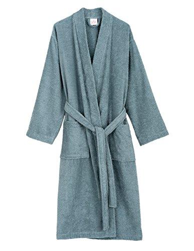 Heavyweight Terry Robe (TowelSelections Women's Robe Turkish Cotton Terry Kimono Bathrobe Small/Medium Stone)