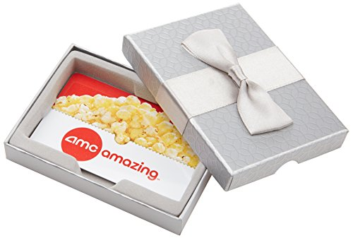 AMC Theatres $50 Gift Card - In a Gift Box (Gift Fandango Card)