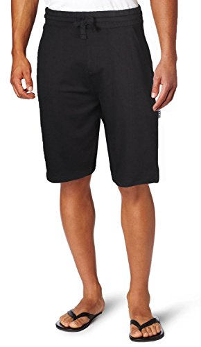 (Pro 5 Men's Premium Terry Fleece Shorts-Black-XL)