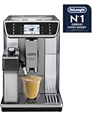 De'Longhi Automatic Coffee Machine Automatic Coffee Machine, Silver, ECAM65055MS
