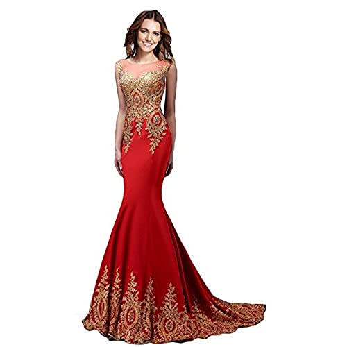 Red Wedding Dress with Gold: Amazon.com