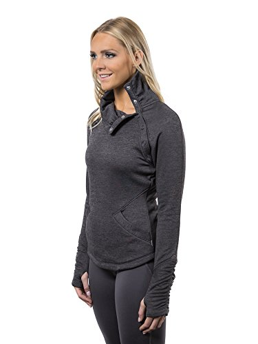 Alex + Abby Women's Plus-Size Chill Chaser Pullover 3X Dark Grey Heather