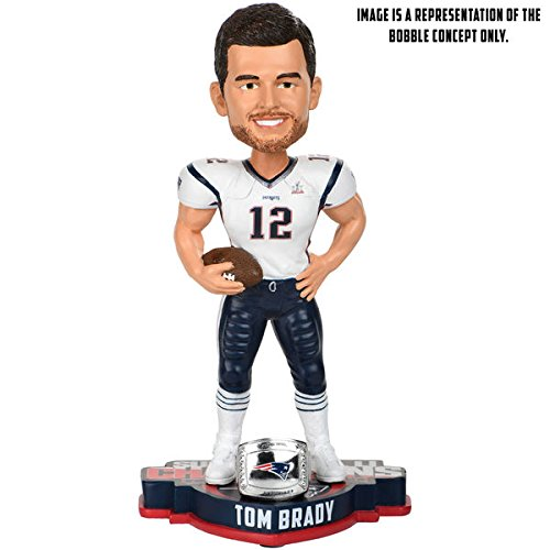 New England Patriots Tom Brady Super Bowl 51 Champions Player Bobblehead