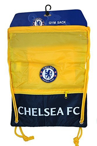 FC Chelsea Authentic Official Licensed Soccer Drawstring Cinch Sack Bag 02 by RHINOXGROUP