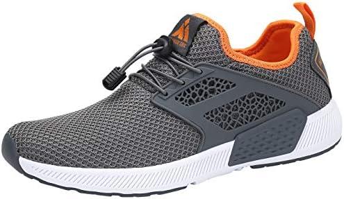 ファッション ランニングシューズ エアクッション 超軽量 スニーカー 通気 ジム 靴 ユニセックス