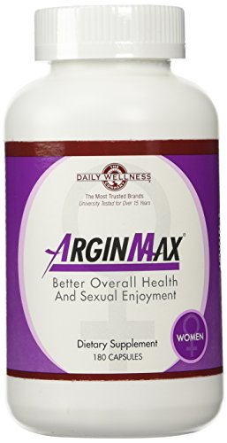 Daily Wellness Company, ArginMax for Women, 180 Sex Enhancement Tablets by Wellness Daily