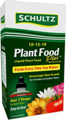 Schultz All Purpose Liquid Plant Food 10-15-10, 4 oz