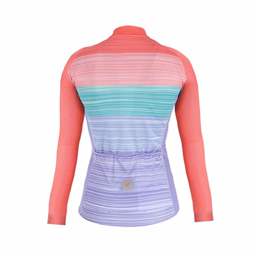 Transpirable Color Warm Mangas Deportiva Mujer Winter Uglyfrog Completa Moda Ciclismo Ropa 03 Último Largas Maillots Cremallera Cálido qfEZTvwx
