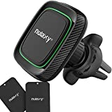 (Upgraded) 360° Magnetic Car Phone Holder, Universal Air Vent Cell Phone Car Cradle Phone Mount Car, Compatible with iPhone Xs/XR/XS Max/X 8 Plus 7 6 5 Samsung Galaxy LG Nexus Sony and More - Green
