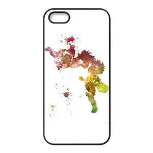 Funda iPhone 4 4s caja del teléfono celular Funda Negro Ghibli Ponyo Y3E6TE