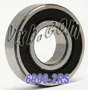 6900 2rs Roulement 61900 2RS 61900-2rs 61900-2RS 6900 dimension 10x22x6 6900RS