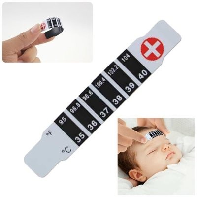 Handy Kids Forehead Strip Head Thermometer Fever Body Temperature Test