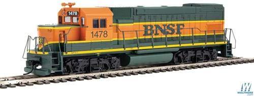 Walthers Trainline HO Scale Model EMD GP15-1 - Standard DC - BNSF Railway (Green, Orange, Yellow) from Walthers Trainline